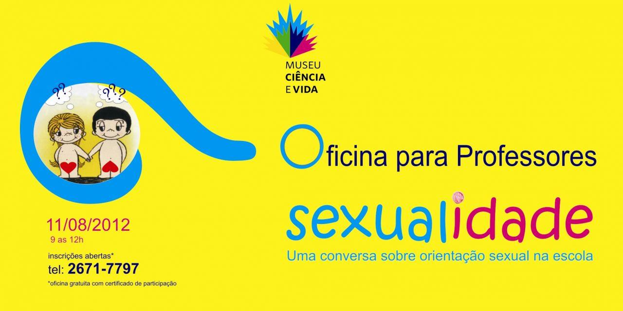Sexualidade é o tema da próxima oficina para professores