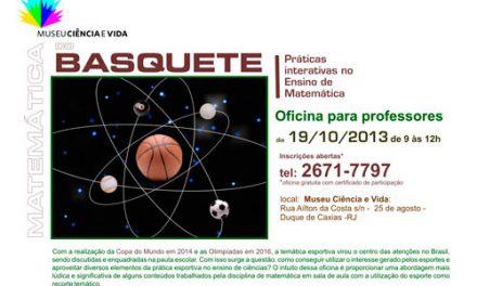 OFICINA PARA PROFESSORES: MATEMÁTICA DO BASQUETE