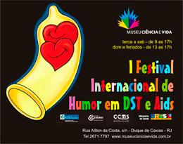 Cartuns do I Festival Internacional de Humor em DST e Aids em exposição