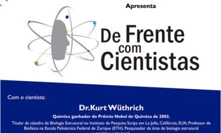 Venha para um bate papo com o Prêmio Nobel da Química! – Aberta ao público.