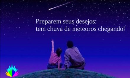 Preparem seus desejos: tem chuva de meteoros chegando!