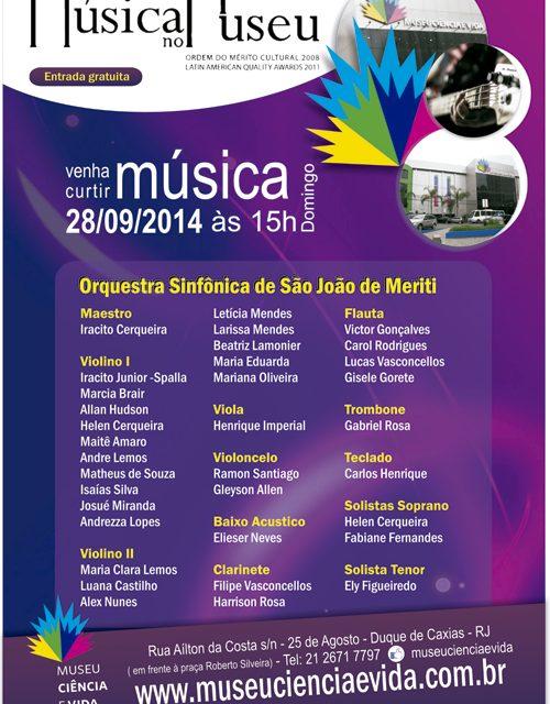 Orquestra de São João do Meriti se apresenta no Música no Museu