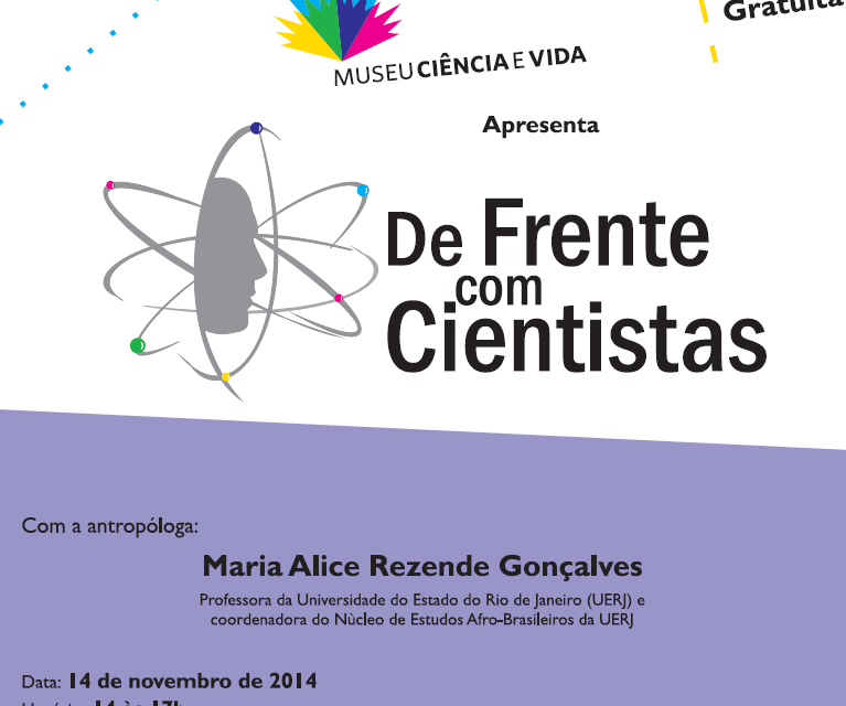 Antropóloga Maria Alice Rezende é a próxima convidada do De Frente com Cientistas