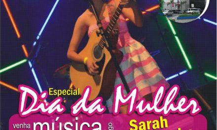 No dia da mulher, Música no Museu recebe Sarah Pessanha