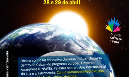 Minicurso aborda ensino de astronomia no Museu Ciência e Vida