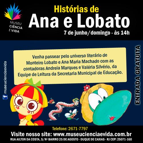 Contação de histórias traz o mundo de Monteiro Lobato e Ana Maria Machado