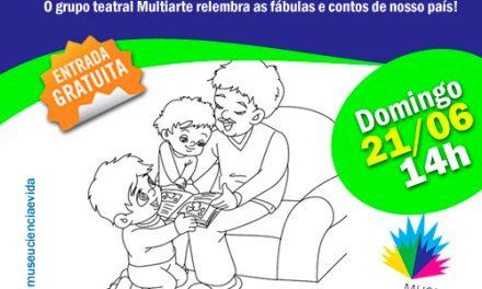 Contos orais brasileiros entram em cena no Museu Ciência e Vida