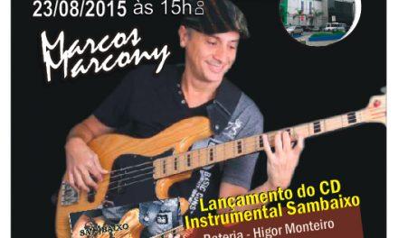 Marcos Marcony lança novo CD no Música no Museu
