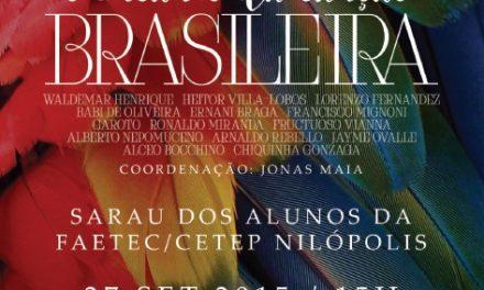 Sarau revive grandes nomes da música clássica e popular brasileira