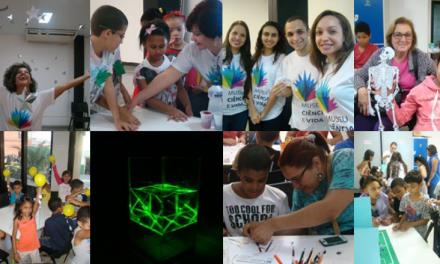 Brincar com ciência faz sucesso nas férias do Museu Ciência e Vida