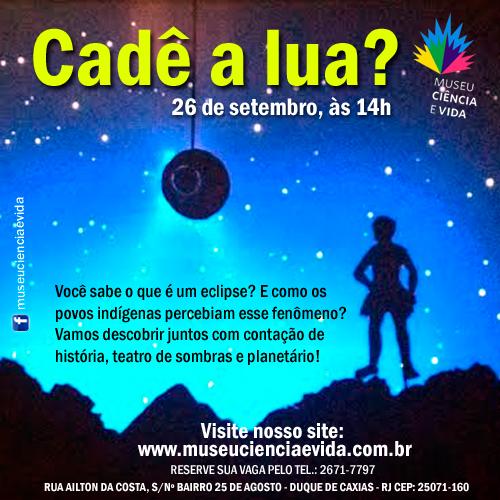 """""""Cadê a lua?"""" encena o eclipse pelo olhar indígena"""