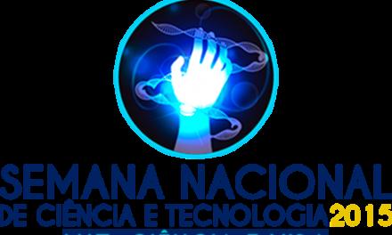 Programação especial para a Semana Nacional de Ciência e Tecnologia