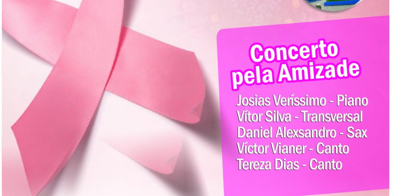 Concerto homenageia mulheres que lutam contra o câncer de mama