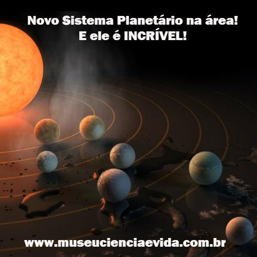 Novo Sistema Planetário na área! E ele é INCRÍVEL!