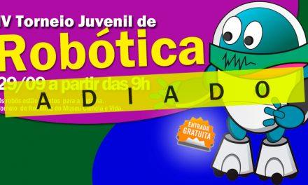 IV TORNEIO JUVENIL DE ROBÓTICA