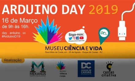 Arduíno Day no Museu Ciência e Vida