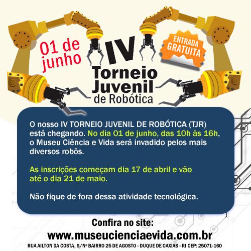 IV TORNEIO JUVENIL DE ROBÓTICA (TJR)