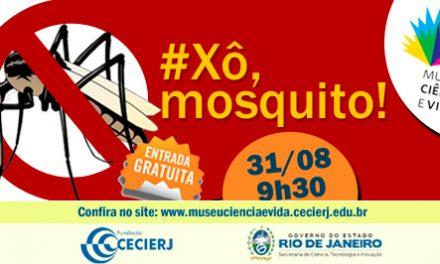 Oficina para professores: Xô Mosquito