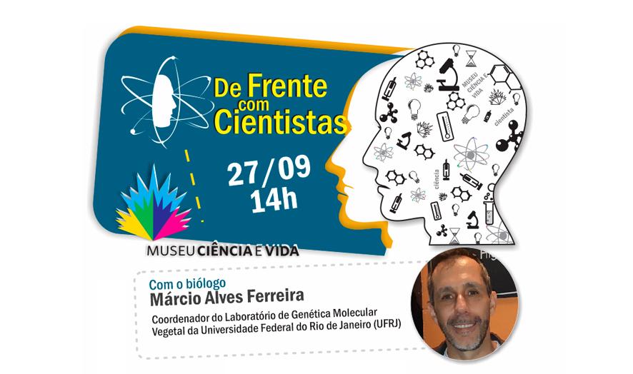 Evento De Frente com Cientistas acontece nesta sexta-feira (27)