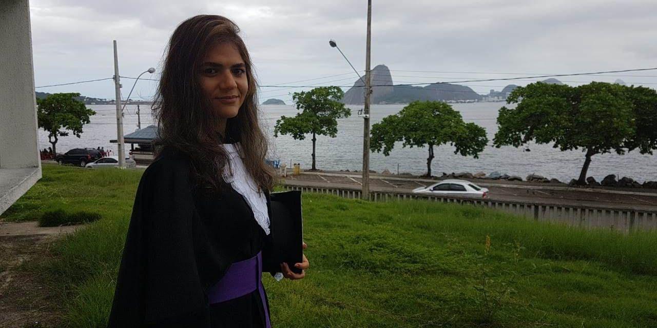 Formada pelo Cederj é aprovada em 1º lugar em mestrado em Portugal