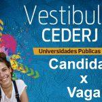 Veja como está a concorrência no Vestibular Cederj 2020.1