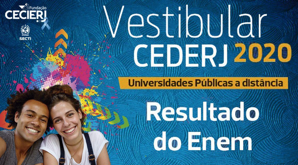 Fundação Cecierj divulga lista dos aprovados no Vestibular Cederj 2020.1 pelo Enem