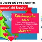 Fundação Cecierj participa da campanha Natal Solidário
