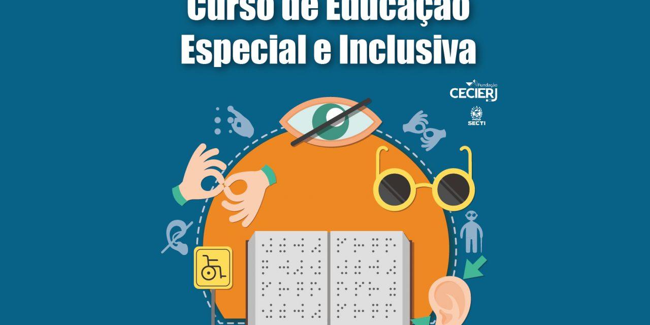Fundação Cecierj oferece 500 vagas para Curso de Educação Especial e Inclusiva