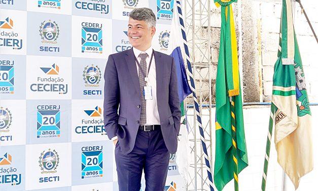 Presidente da Fundação Cecierj: professor Gilson Rodrigues