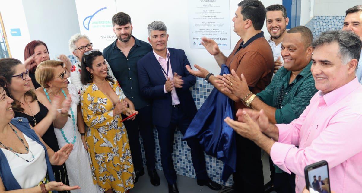 Fundação Cecierj inaugura Polo Cederj em Mesquita