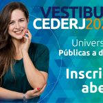 Abertas as inscrições para o Vestibular Cederj 2020.2