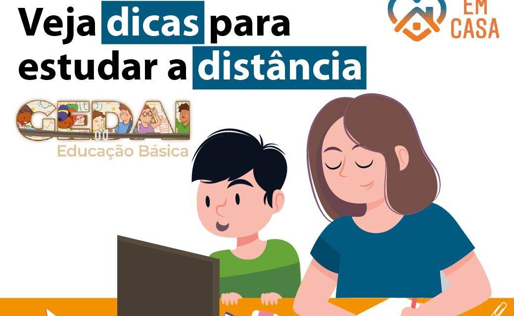 Aprenda estudar a distância com Gedai – Educação Básica. São mil vagas