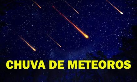 Vai ter chuva de meteoros no final do mês!
