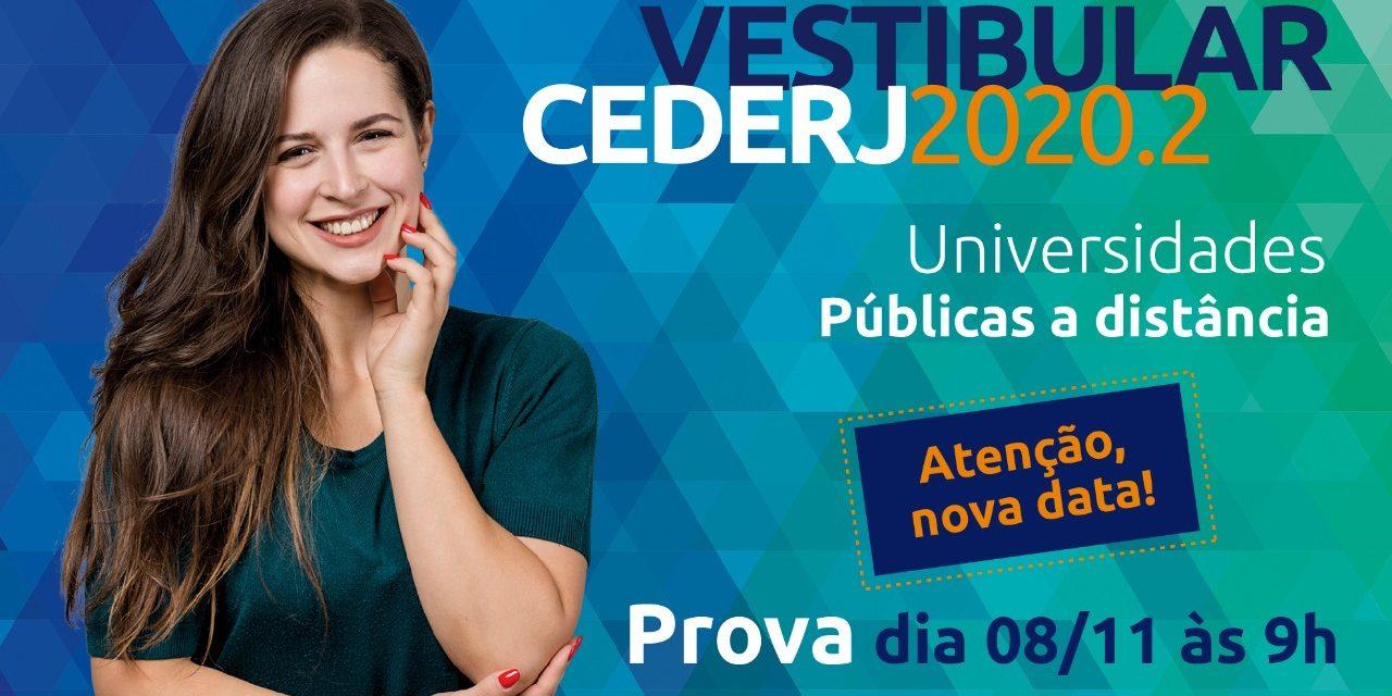Fundação Cecierj divulga nova data do Vestibular 2020.2