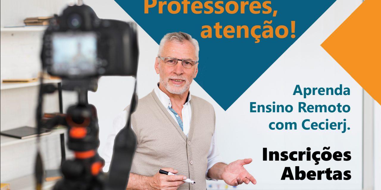 Cecierj lança cursos gratuitos para professores da Educação Superior