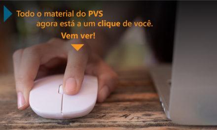 Material produzido pelo PVS estará disponível no Google ClassRoom