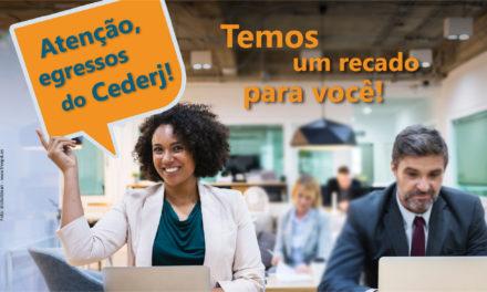 Fundação Cecierj realiza pesquisa com alunos que se formaram pelo Consórcio Cederj