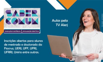 Universidades consorciadas do Cederj oferecem disciplinas de pós-graduação a distância