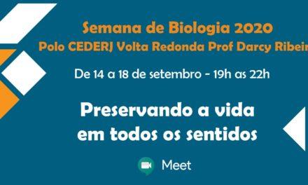 Polo Cederj de Volta Redonda realiza Semana Acadêmica de Biologia online