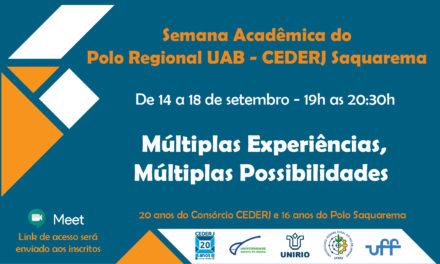 Polo de Saquarema comemora 16 anos com a primeira Semana Acadêmica
