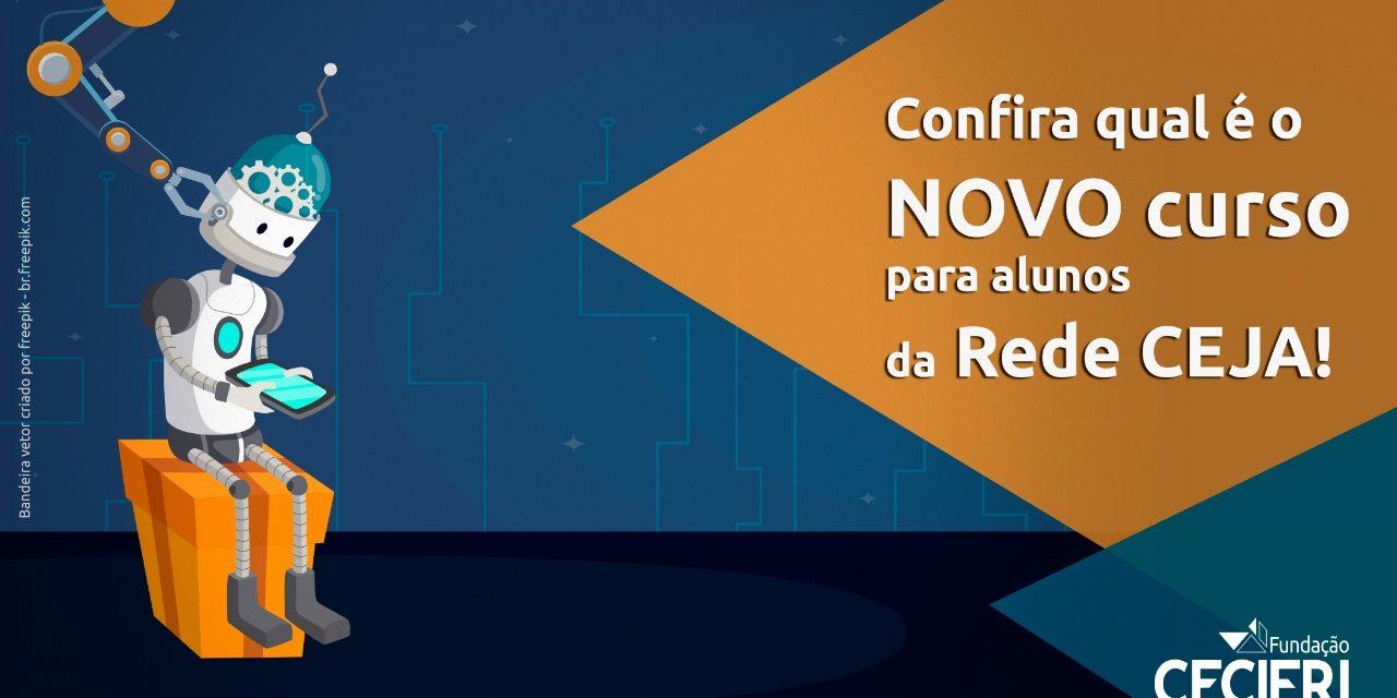 Robótica é a nova oficina oferecida aos alunos da Rede CEJA