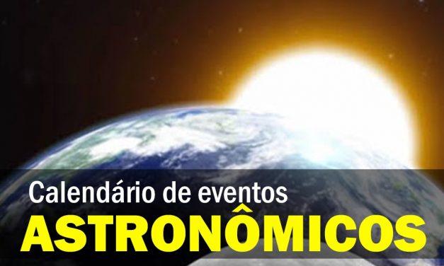 Confira o calendário astronômico de janeiro
