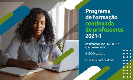 Fundação Cecierj oferece 6.200 vagas para cursos de atualização de professores