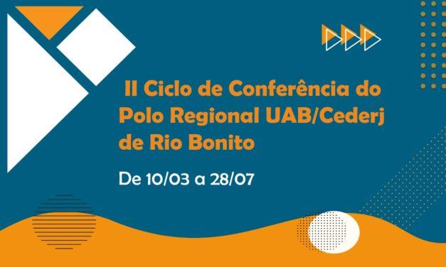 Polo Cederj Rio Bonito abre o seu II Ciclo de Conferências