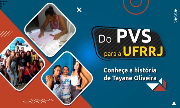 Novo desafio: ex-aluna do PVS é aprovada no Vestibular Cederj para Administração da UFRRJ