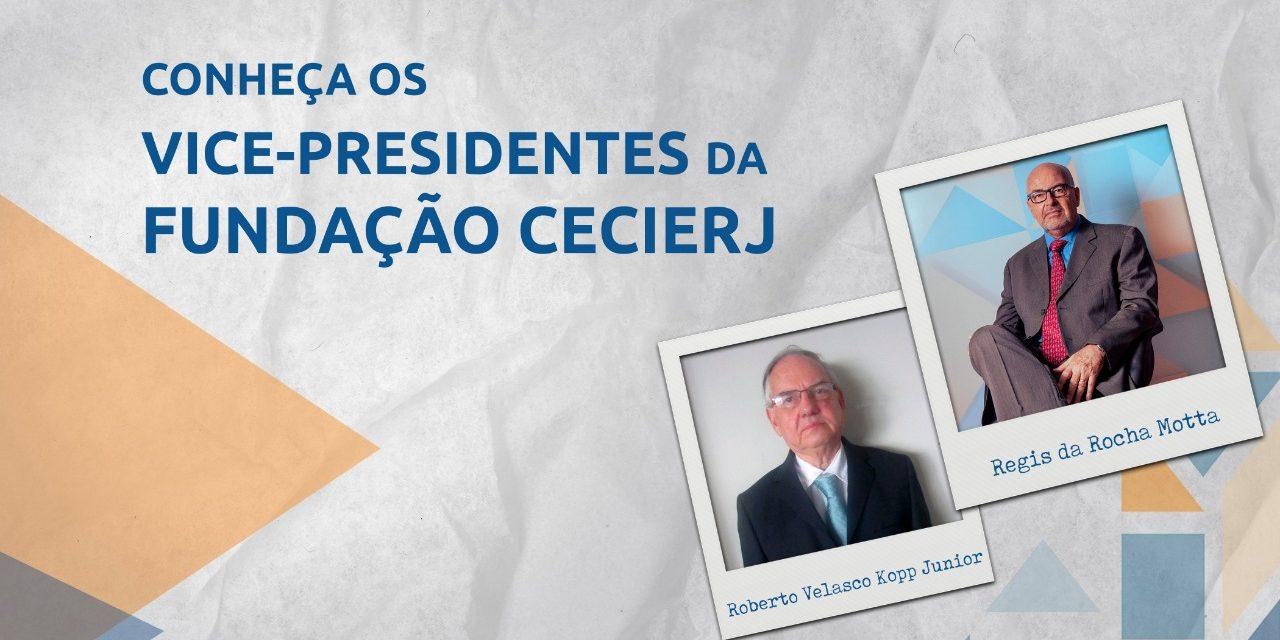 Conheça os vice-presidentes da Fundação Cecierj