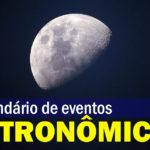 Calendário Astronômico Abril
