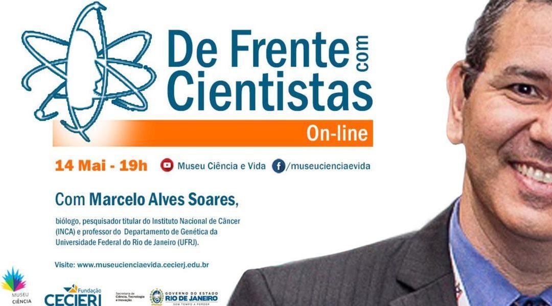 De Frente com Cientistas recebe Marcelo Alves Soares