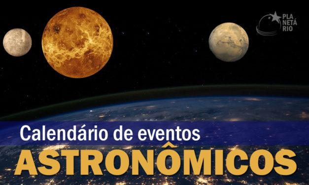 Calendário Astronômico Junho