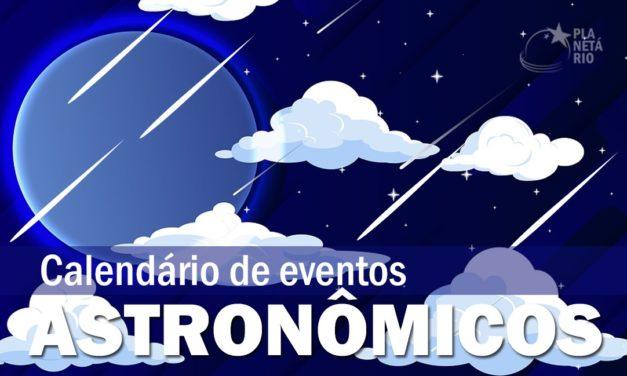 Calendário Astronômico Julho